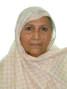 Arif's mother Qamar Jahan